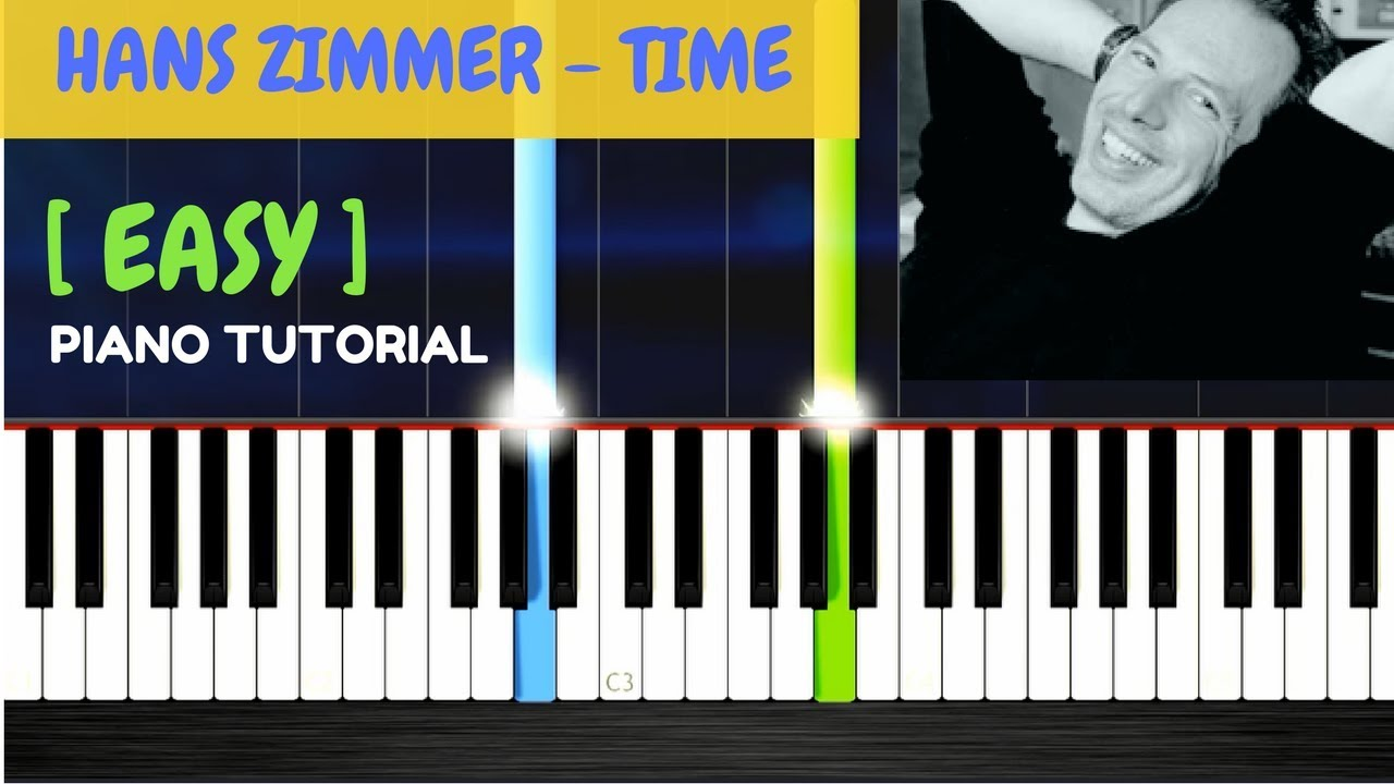 Hans zimmer time piano tutorial with lyrics album for Hans zimmer time