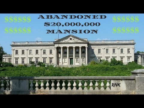 ABANDONED WHITE HOUSE MANSION 💰20 MILLION DOLLARS💰
