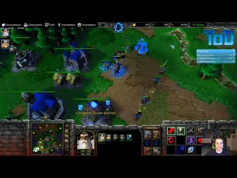 Warcraft III #719 PTR - HOT Human vs Orc (Last Refuge)