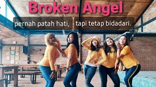 Download lagu Broken Angel Dance #MendadakDangdut || iDanceFit TV