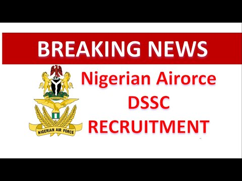Nigeria airforce recruitment form