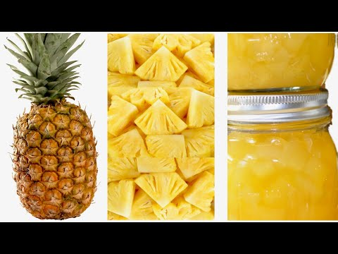 How To Store Fresh Pineapple For Up To Eight Months With No Preservative And No Added Sugar