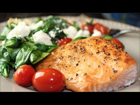 Bodybuilding Meal: Salmon Recipe High Protein & Healthy Fat