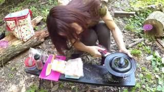 野営地 DE ソロキャンプ 料理