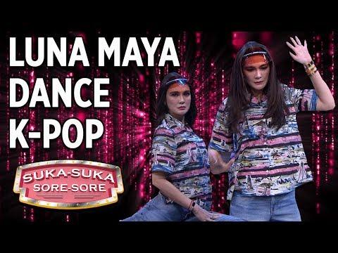 Luna Maya Dance K-POP, Malah Jadi Begini -  Suka Suka Sore Sore (10/1) PART 1