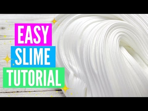 Easy How To Make Slime Tutorial For Beginners