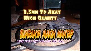 Download Video Membuat Kabel Jamperan Dari Mixer Ke HP Dengan Kualitas Bagus ( jeck 3.5mm to Akay 35mm ) MP3 3GP MP4