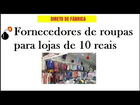 f0c377ffca31a Fornecedores de roupas para lojas de 10 reais - YouTube