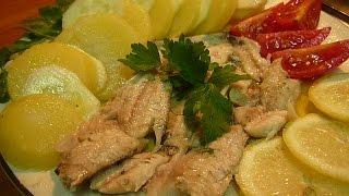 Рыба в духовке Ставрида в Фольге Просто Вкусно