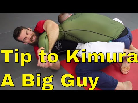 How to Finish Kimura Against Big Strong Guys in BJJ (Finishing Tips)