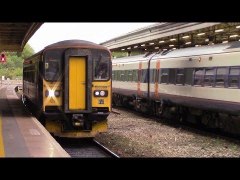 Exeter St Davids to Okehampton Dartmoor Railway Class 153 369