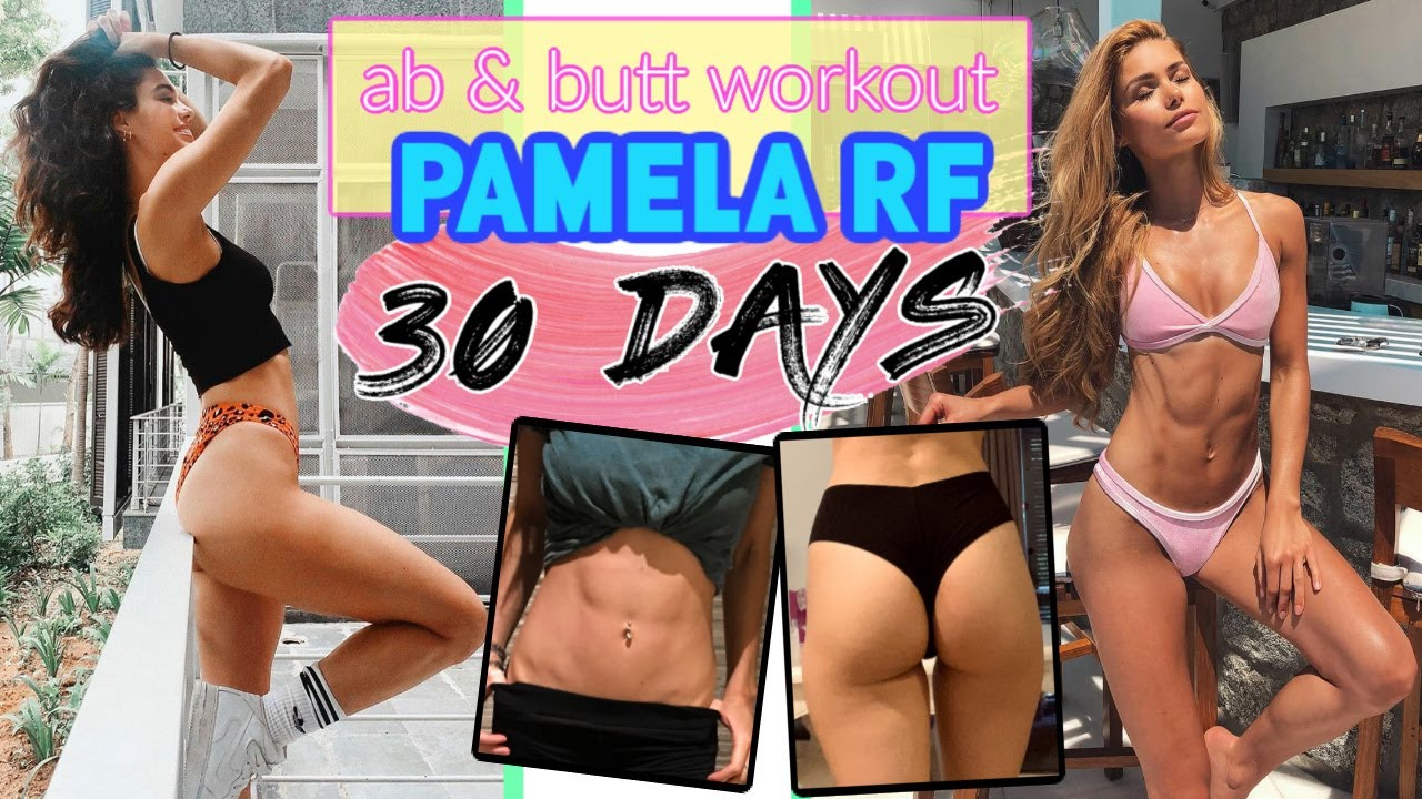 I tried the Pamela Rf AB & BUTT Workout for 1 MONTH!!