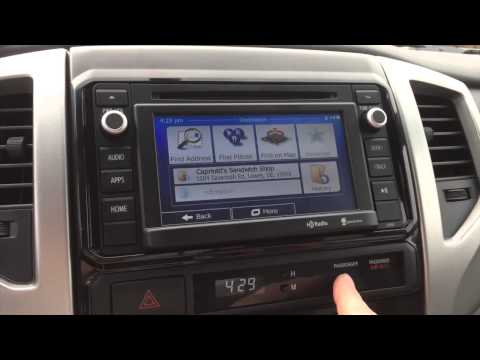 Adding iGO Navigation To A 2014 Toyota Tacoma