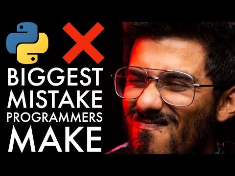 Biggest mistake beginner programmers make (tutorial purgatory)