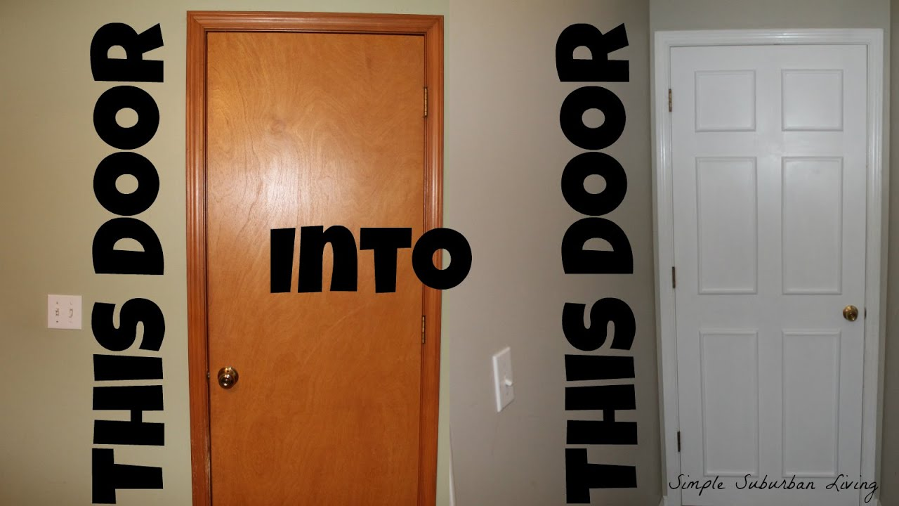 & How To Upscale a Cheap Door for under $20 - YouTube