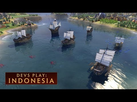 CIVILIZATION VI: Devs Play Indonesia (New DLC)