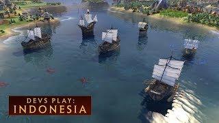 Video CIVILIZATION VI: Devs Play Indonesia (New DLC) download MP3, 3GP, MP4, WEBM, AVI, FLV Oktober 2017