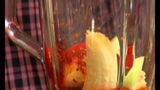 Свекольный смузи с яблоком и морковью