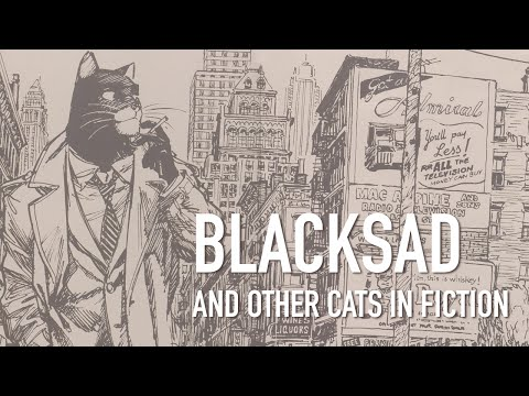 Blacksad and Other Cats in Fiction