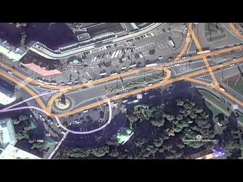 Разбор проезда по перекресткам Санкт-Петербурга.Авто инструктор.