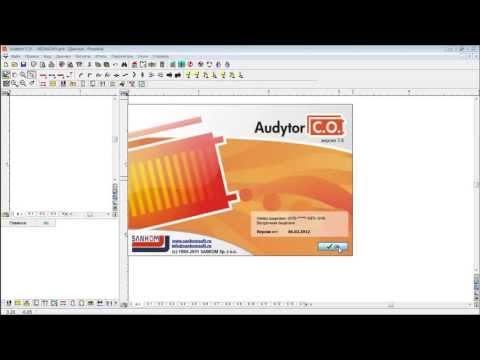 Презентация программы Audytor C.O. 3.8