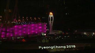 Histórica inauguración de los Juegos Olímpicos de Pyeongchang