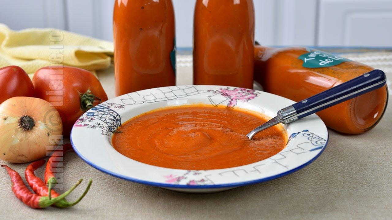 Ketchup picant 100% facut in casa   JamilaCuisine