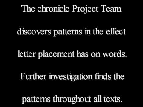 The Chronicle Project. org