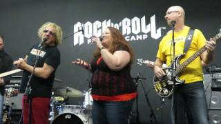 "Rock n Roll Fantasy Camp - Sammy Hagar ""There"
