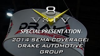 Barn Find 1967 Shelby GT500 in Scott Drake SEMA 2014 Display V8TV Video