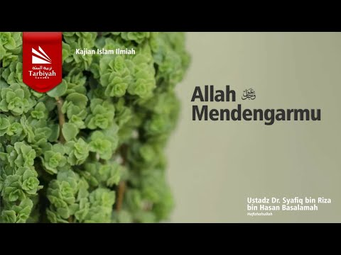 Tabligh Akbar : Allah Mendengarmu   Ustadz Dr. Syafiq Riza Bin Salim Basalamah, M.A