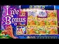 LIVE BONUS Trigger!!! Return to Crystal Forest Big Bonus!!! in San Manuel Casino