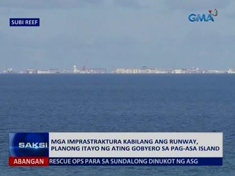 Saksi: Ilang imprastraktura sa Pag-asa Island, planong itayo ng gobyerno