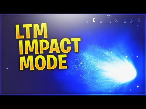 FORTNITE LTM IMPACT METEOR/COMET GAMEMODE TILTED TOWERS DESTROYED
