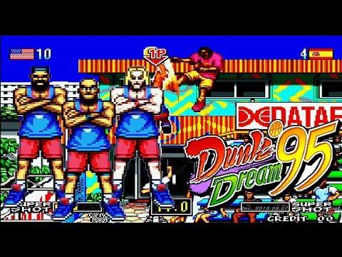 Dunk Dream 95 - 1CC (Not MAME) / HOOPS 96 / ダンクドリーム95 / 덩크 드림