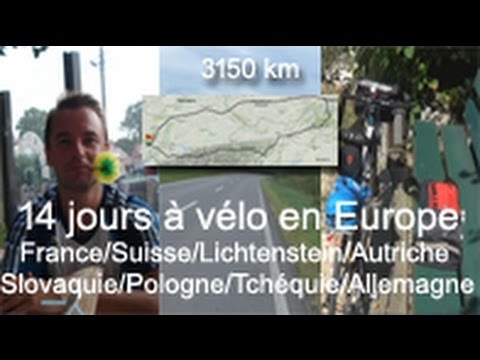 Voyage à vélo en Europe