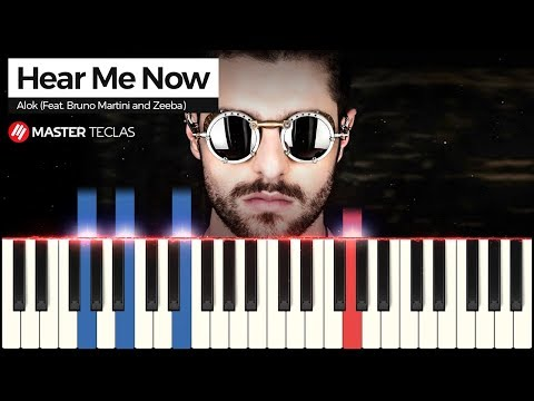 💎 Hear Me Now - Alok Feat Bruno Martini and Zeeba  Piano Tutorial 💎