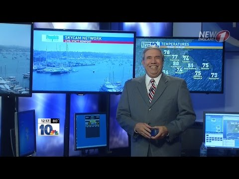Meteorologist Gary Ley Retires from WJAR Providence - His Last Forecast