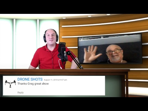 Oz By Drone LIVE! #22 - Senate Enquiry into Drones - Guest: Greg Tyrrell from AAUS