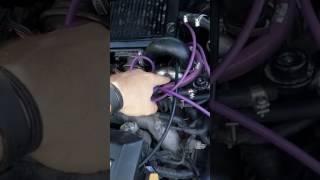Подключение вакуумных шлангов. Subaru Legacy твин-турбо, дорестаил