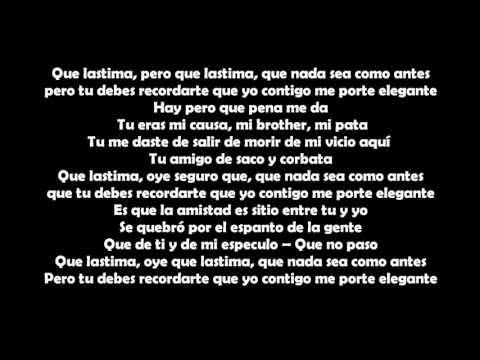 BARBARITO FINES Y SU MAYIMBE - EL AMIGO (LETRA)