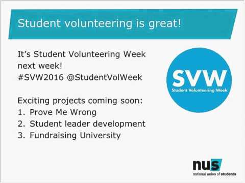 Volunteer Management in an SU: a beginners' guide