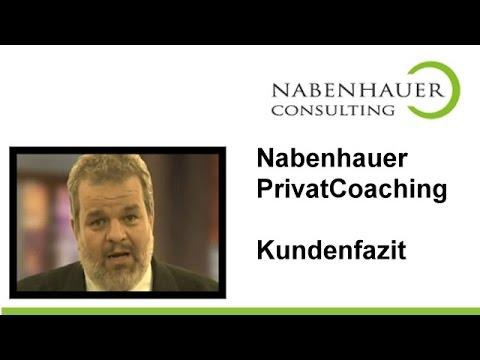 Siegfrid Lachmann berichtet über seine Erfahrungen mit seinem Privat Coaching bei Robert Nabenhauer