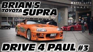[ROWW]DRIVE 4 PAUL #3 ワイルドスピード スープラ! FAST & FURIOUS TOYOTA BRIAN