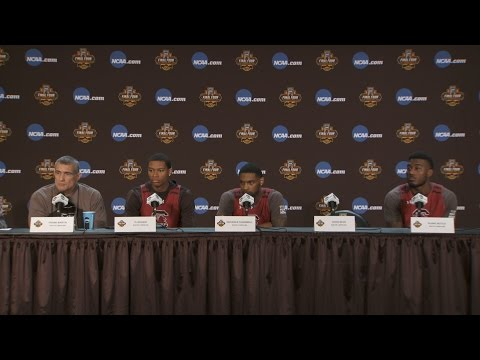 Coach Martin, Dozier, Thornwell, Notice NCAA Final Four News Conference — 3/31/17
