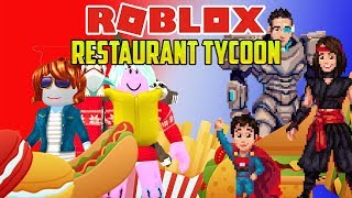 Roblox: LET'S PLAY WITH FOOD! (Restaurant Tycoon)