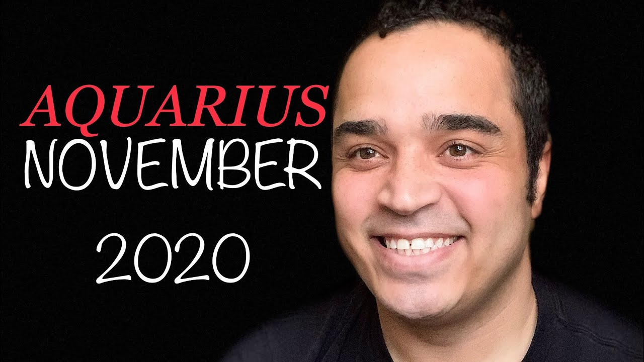 Aquarius! They Have Love They Want To Offer YOU! November 2020
