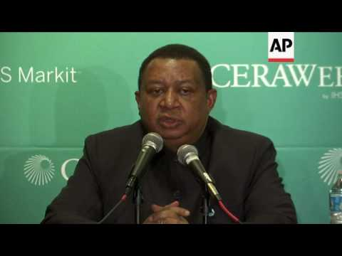 OPEC chief on talks with US shale-oil operators