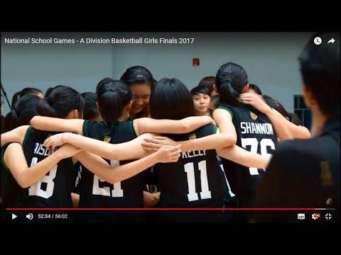 National School Games - A Division Basketball Girls Finals 2017