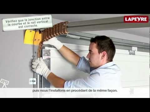 Installer une porte de garage sectionnelle youtube - Guide installation porte de garage ...
